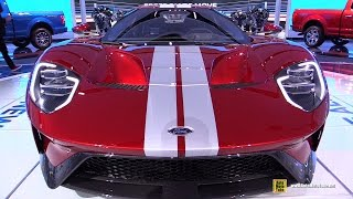 Download 2017 Ford GT - Exterior and Interior Walkaround - 2017 Detroit Auto Show Video