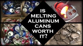 Download Is Melting Aluminum Cans Worth It? - Pure Aluminum Ingots From Cans Video