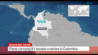 Download Colombian Plane Crash: Plane carrying 81 people crashes in Colombia Video