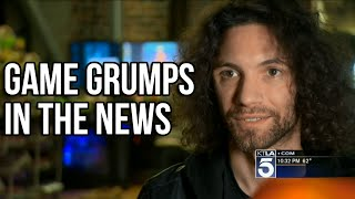 Download Game Grumps Segment on KTLA 5 | May 25, 2016 Video