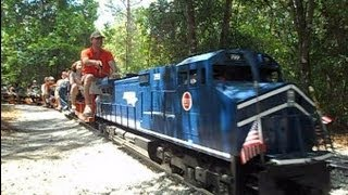 Download Central Pasco & Gulf Railroad Model Trains You Can Ride On Video