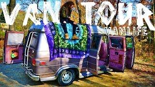 Download MY VAN: TOUR!! Chevy conversion Van. #VANLIFE (Van Tour) Video