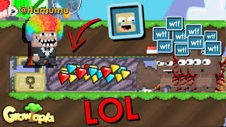 Growtopia | 15WLS TO 100WLS FARM WORLD!!! (ANOTHER EXPENSIVE FARM