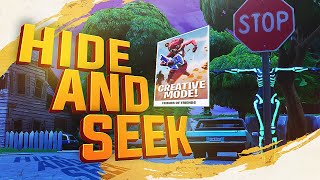 Download *NEW* FORTNITE CREATIVE MODE HIDE AND SEEK! FIRST LOOK Video