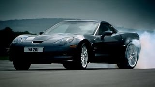 Download Corvette ZR1 vs Audi R8 | Top Gear | BBC Video