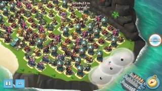 Download Boom Beach MAX LEVEL 60 Resource Base destroyed in seconds Video