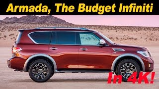Download 2017 Nissan Armada First Drive Review - In 4K UHD! Video