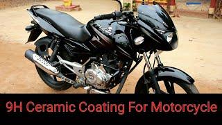 Download DIY 9H nano ceramic coating on bike Video