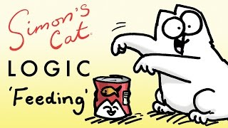 Download Simon's Cat Logic - Things You Didn't Know About Feeding Time! Video