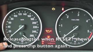 Download How to Reset the 2006-2011 BMW Maintenance Light (oil, brake, service) Video