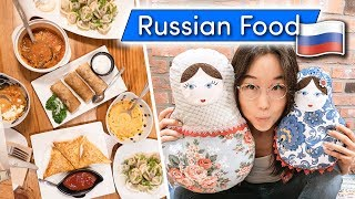 Download RUSSIAN FOOD in South Korea ♦ Русская кухня в Корее Video