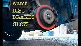 Download WATCH DISC BRAKES GLOW ! Video