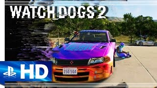 Download Watch Dogs 2 (2016) ″Season Pass″ Gameplay Trailer - PS4 [1080p] Video