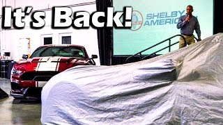 Download Shelby Unveils REBIRTH Of The GT500 SUPER SNAKE! | Double Car Reveal Video