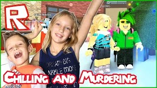 Download Just Chill and Murder / Roblox Murder Mystery 2 with KarinaOMG Video