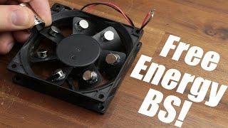 Download Free Energy BS! || Magnet PC Fan, Bedini Motor Video