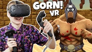Download FUNNY AND GORY MOMENTS IN VIRTUAL REALITY! | Gorn VR (HTC Vive Gameplay) Video