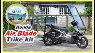 Download Honda Air Blade Trike Kit / Side Wheel Kit ล้อกันล้ม รถผู้สูงอายุ รถสามล้อ(หลัง) Video