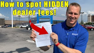 Download 9 fees to NEVER pay a car dealership. Tips on car buying, how to negotiate, and how to buy a car. Video