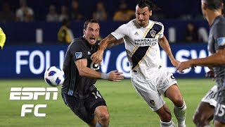 Download Zlatan Ibrahimovic records goal and assist, LA Galaxy beat Minnesota FC 3-1 | MLS Highlights Video