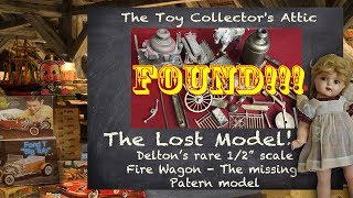 Download FOUND!! The 6th Delton Fire Wagon AND the Pattern Model. Video
