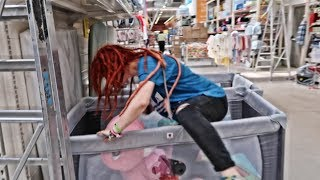 Download THE FLOOR IS LAVA IN SUPERMARKET | ADEVAR SI PROVOCARE Video