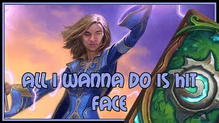 Download All I wanna do is hit face | Token druid | The Witchwood | Hearthstone Video