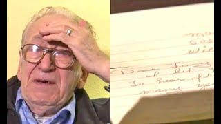 Download Elderly man finds son after discovering letter hidden by his wife for decades Video