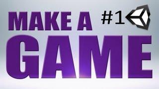 Download 1. MAKE a GAME Basics (Unity) Video