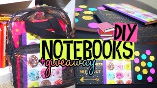 Download DIY Notebook Covers for Back to School! Easy & Affordable Ideas! +GIVEAWAY & MEETUP Video