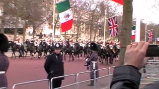 Download London Ceremonial for Mexican State Visit - March 2015 Video