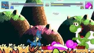 Download Mugen Vore - (Ðshiznetz)Lucario and (Moku)Lucario vs Gum and Spike Video
