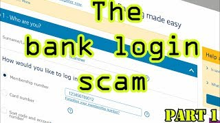 Download The bank login scam (Part 1) Video