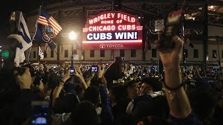 Download ″The Cubs Win the World Series. Everyone Goes Nuts.″ Video
