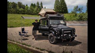 Download Land Rover Defender 110 Overland Vehicle build / Expedition Set-up - Walk around Video