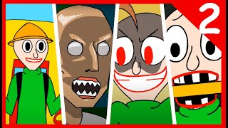 Download BALDI'S BASICS X GRANNY HORROR ANIMATION COMPILATION #2 Video