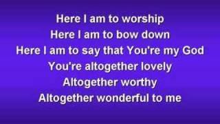 Download Here I am to Worship (worship video w/ lyrics) Video