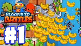 Download SO MUCH MONEY SO QUICKLY! | Bloons TD Battles Gameplay Walkthrough Part 1 Video