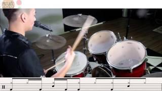 Download 超簡單爵士鼓教學《帥到分手》史上最簡單帥氣的打法! Video