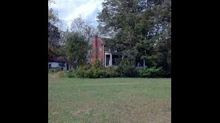 Download ABANDONED mid 1800s farm house with creepy well. Madisonville, TN Video