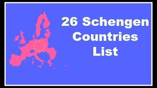 Download Schengen Countries Video