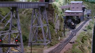 Download Model railroad operation on the Johnstown and Gerryville 20141129 Video