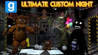 Ultimate Custom Night MULTIPLAYER   (Five Nights at Freddy's