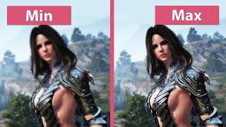 Download Black Desert Online – PC Min vs. Max Graphics Comparison Video