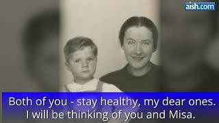 Download Moments before Being Gassed at Auschwitz, A Mother's Letter Video