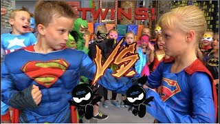 Download BOYS vs GIRLS! Super Birthday Bash! Twin Ninja Kidz! Video