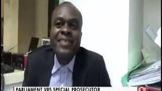 Download Parliament Vrs Special Prosecutor - PM Express on JoyNews (17-6-19) Video