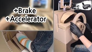 Download How to make brakes and accelerator pedals in cardboard Video