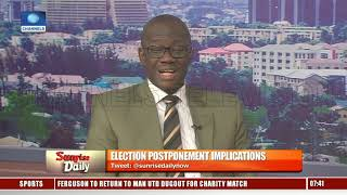 Download INEC Official Highlights Challenges That Led To Elections Postponement Pt.2 |Sunrise Daily| Video