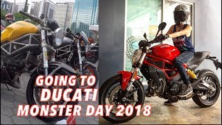 Download Riding to DUCATI MONSTER DAY 2018 Philippines on my Scrambler Sixty2 Video
